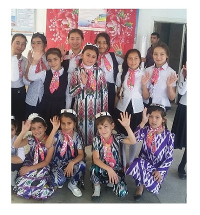 Celebration of the International Day of the Girl Child in Tajikistan